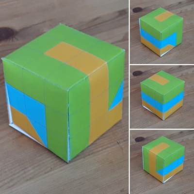 The labyrinth cube