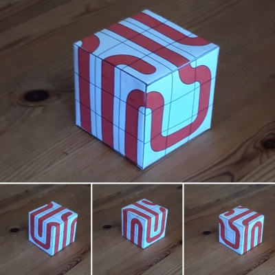 Ariadne's thread on Rubik's Cube