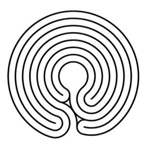 Das komplementäre Labyrinth im Knidos Stil