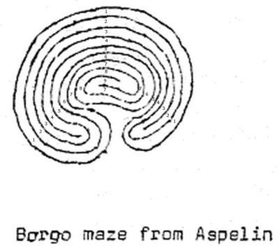 Fig. 1: A stone labyrinth type Wunderkreis