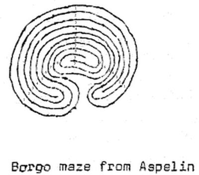 Fig. 1: Ein Steinlabyrinth vom Typ Wunderkreis