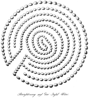 Abbildung 2: Das Wier Labyrinth nach von Baer