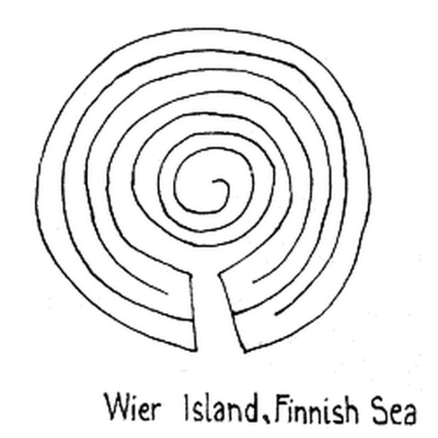 Abbildung 3: Das Wier Labyrinth nach Pennick