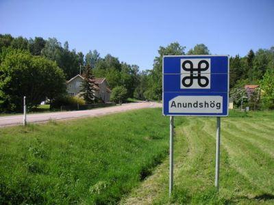 Schwedisches Verkehrszeichen