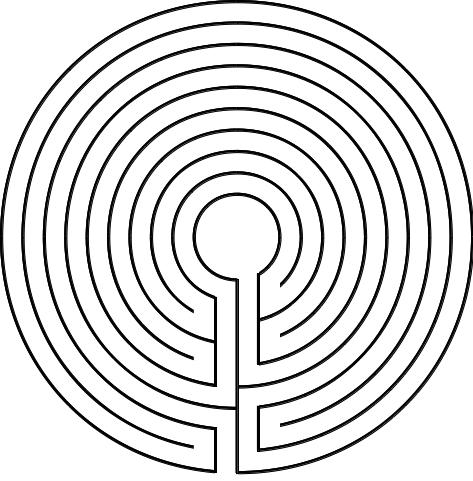 Abbildung 5. Das Duale zum Labyrinth von Tal